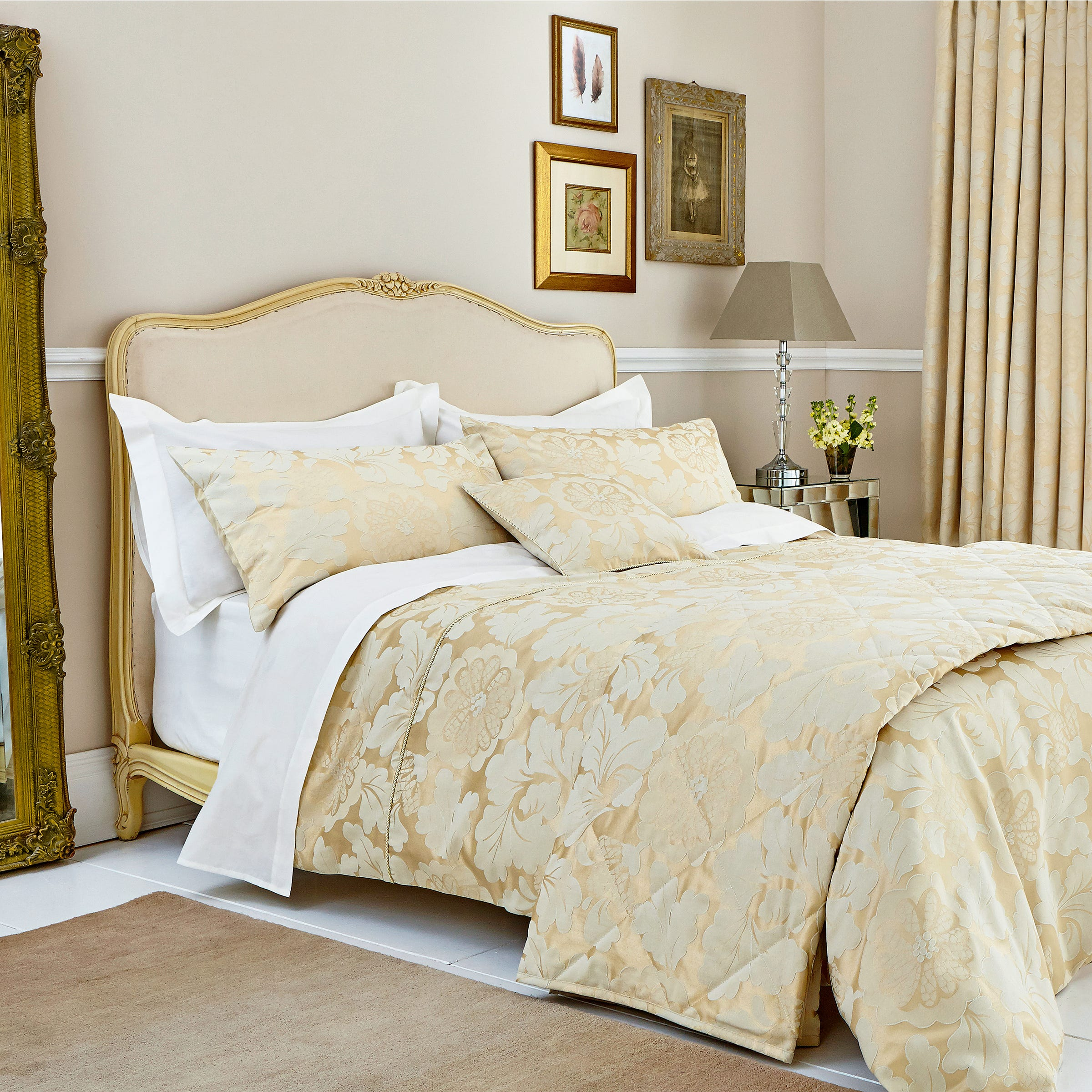 laurence llewelyn bowen gold bedding