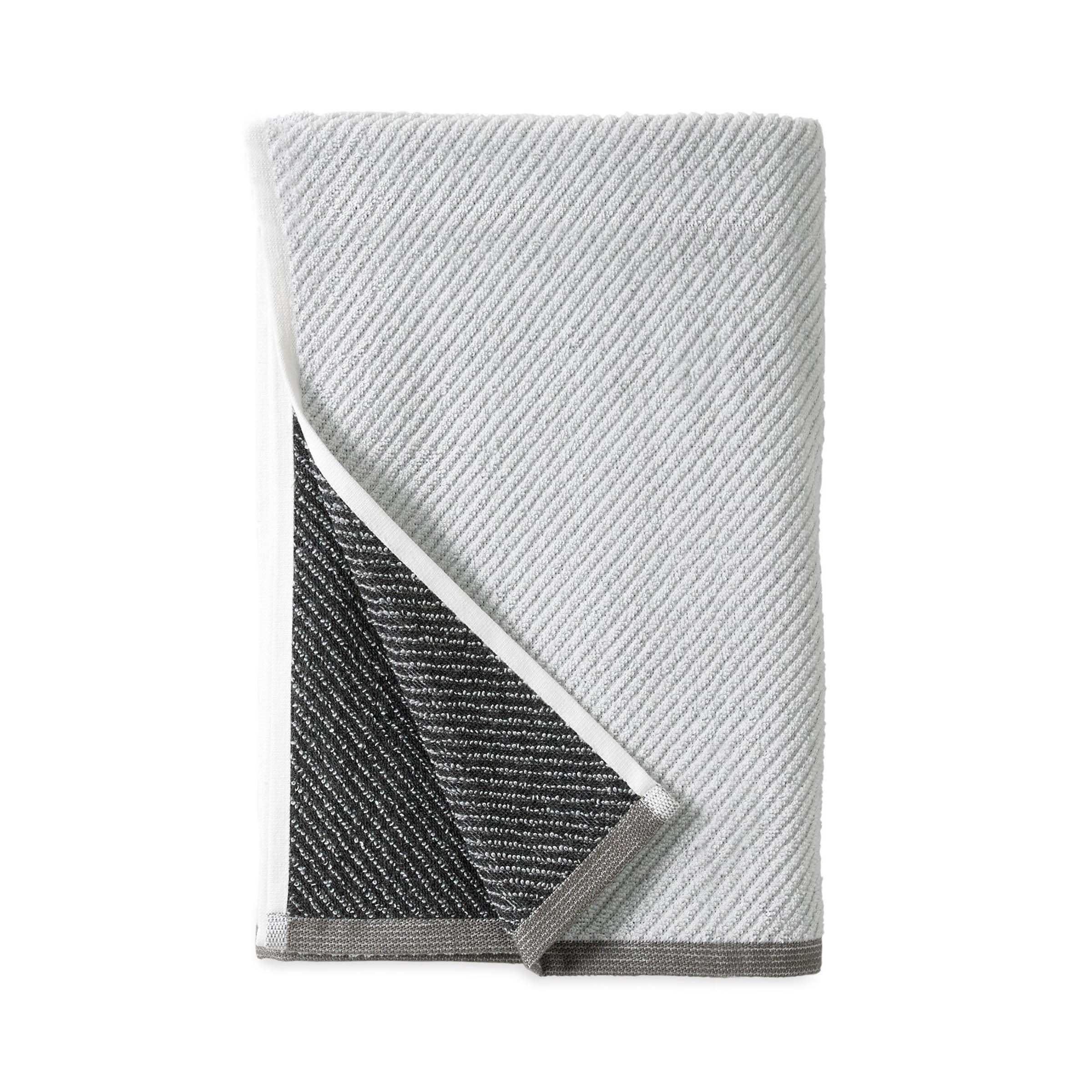 Wellbe Refresh 4 Pack 2 Hand Towels 2 Bath Towels White Bedeck Home