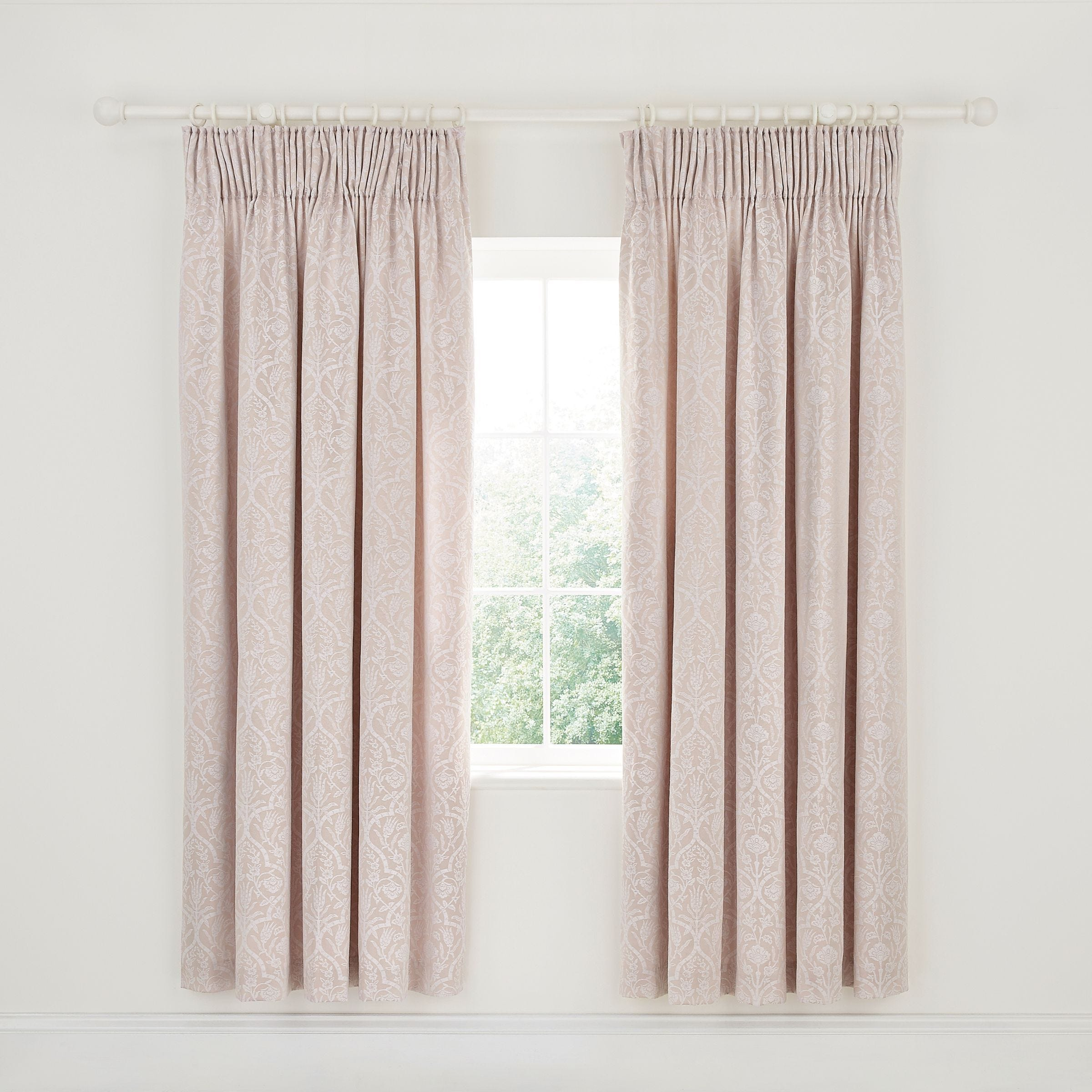 Sanderson Kamala Lined Curtains 66 X 72 Orchid Bedeck Home