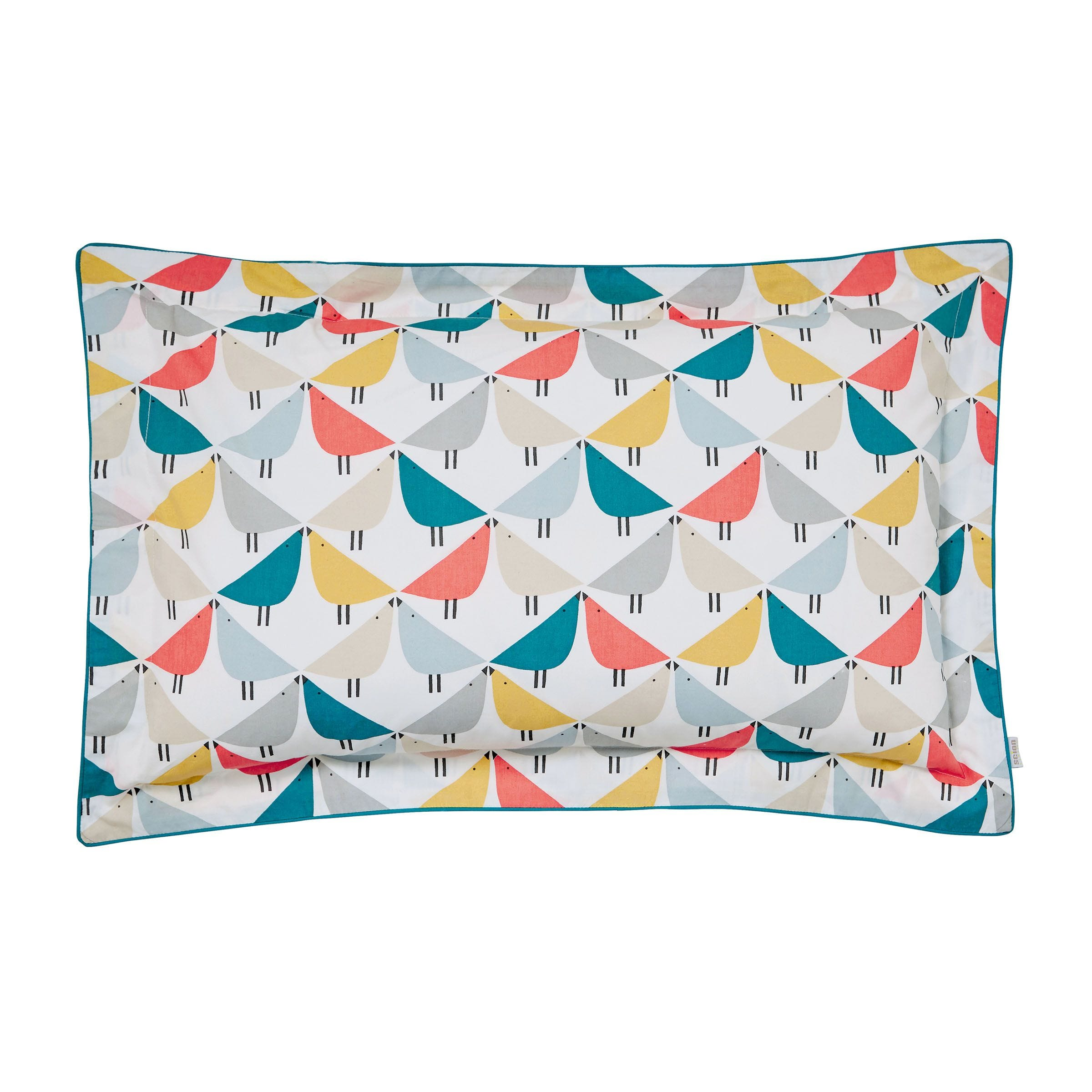 Bird Print Bedding Scion Lintu In Marina Bedeck Home
