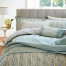 Zeya Duvet Cover, Green