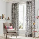 Espinillo Lined Curtains, Grey