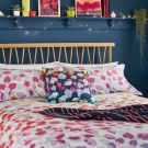 Scattered Hearts Duvet Cover Set, Rainbow