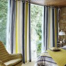 Lace Stripe Lined Curtains (66