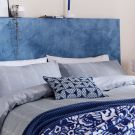 Chambray Duvet Cover Set, Blue