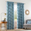 Alyssum Lined Curtains, Blue