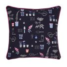 Cottage Garden Floral Cushion 40cm x 40cm, Comet