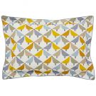 Lintu Oxford Pillowcase, Dandelion & Pebble