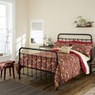Strawberry Thief Duvet Cover - Crimson