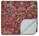 Bullerswood Quilted Throw, Paprika