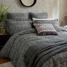 Crown Imperial Duvet Cover, Charcoal