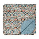Little Chintz Quilted Throw, Teal