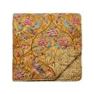 Seasons By May Quilted Throw, Saffron