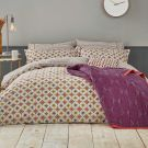 Otto Duvet Cover, Mulberry