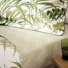 Palm House Fitted Sheets, Botanical Green
