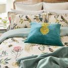 Paradesia Duvet Cover, Orchid & Grey