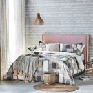 Composition Duvet Cover, Putty
