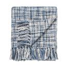 Usuko Knitted Throw, Blue