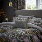 Peony Trail Duvet Cover Set, Midnight