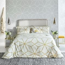 Axal Ochre Geometric Bedding