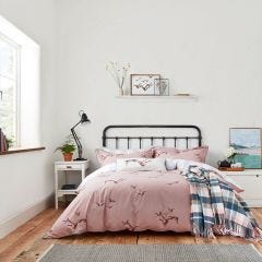 Joules Flying Mallards Bedding in Pink