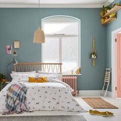 Joules Harbour Dogs Chalk Bedding