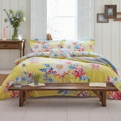 Whitstable Yellow Floral Bedding