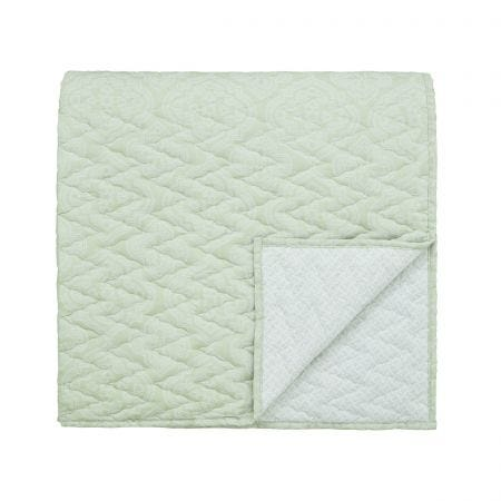 Ravi Sage Quilted Throw.