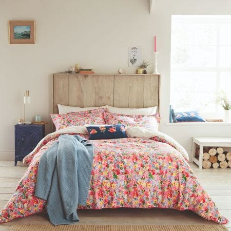 Joules Hollyhock Meadow Bedding