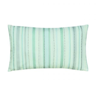 Summer Meadow Aqua Cushion Front