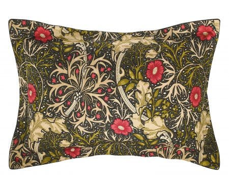 William Morris Seaweed Oxford Pillowcase