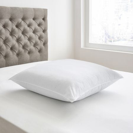 Bedeck Square Pillow White