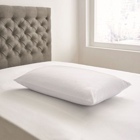 Velvet Touch Hollowfibre Pillow White
