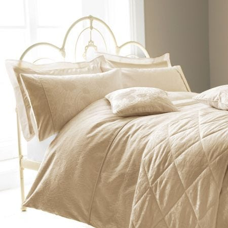 Ashbee Soft Gold Bedding.