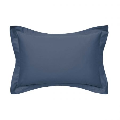 500 Thread Count Plain Dye Pair of Oxford Pillowcases, Navy