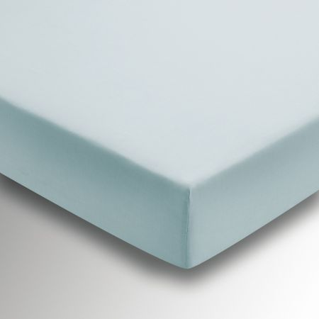 50/50 Plain Dye Percale Fitted Sheets Celadon