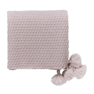 Valetta Knitted Throw Tuberose
