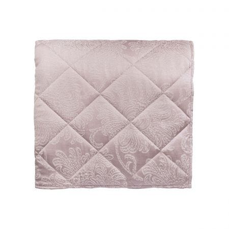 Valetta Double Quilted Throw Tuberose