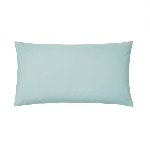 Bedeck of Belfast 200 Thread Count Plain Dye Jade Large Housewife Pillowcase