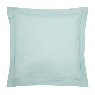Bedeck of Belfast 200 Thread Count Plain Dye Jade Square Oxford Pillowcase