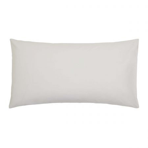 200 Thread Count Plain Dye Silver Large Housewife Pillowcase