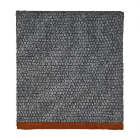 Bedeck Alani Copper Quilted Throw