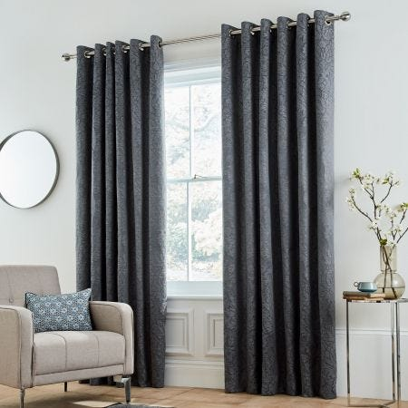 Bedeck Allegro Midnight Curtains