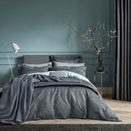 Bedeck Allegro Midnight Jacquard Bedding
