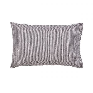 Dhaka Charcoal Pair of Housewife Pillowcases.