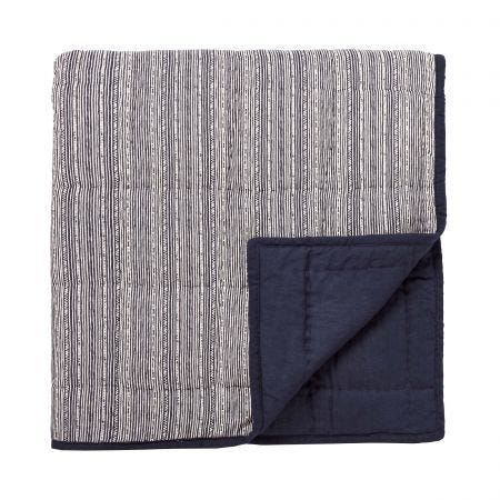 Kateri Quilted Throw, Midnight