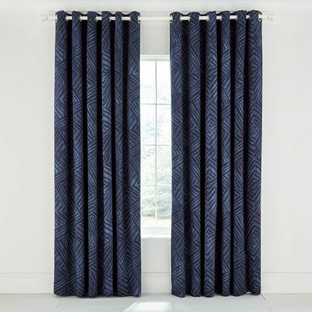 Konoko Indigo Lined Curtains.