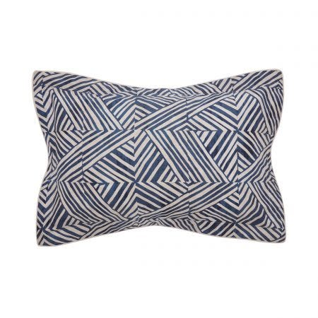 Konoko Indigo Oxford Pillowcase.