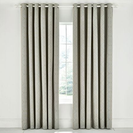 Ravi Sage Lined Curtains.