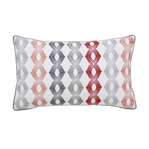 Sezan Cushion 50cm x 30cm, Silver